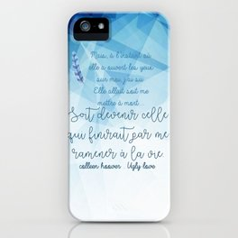 UGLY LOVE . COLLEEN HOOVER iPhone Case