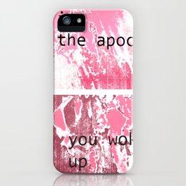 The apocalypse iPhone Case