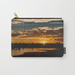 Sunset, Fort Peck Lake Carry-All Pouch