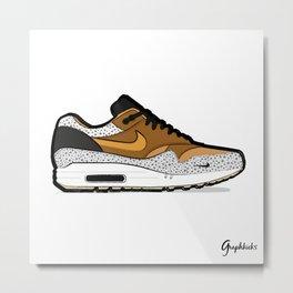 """Air Max 1 """"Safari"""" Metal Print"""