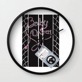 Baby Driver  Alternative Movie Poster Wall Clock