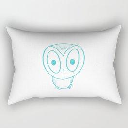 Who? Rectangular Pillow