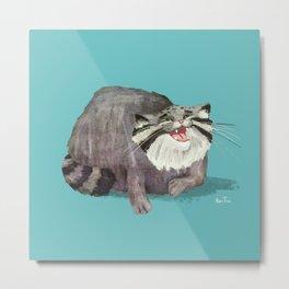 Manul Cat 2 Metal Print