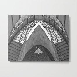 The Staircase Metal Print
