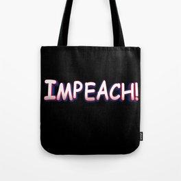 Comic Impeach! Tote Bag