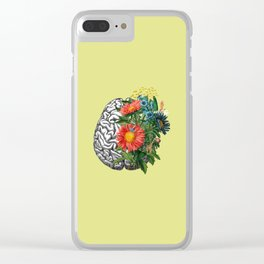 Green gardens Clear iPhone Case