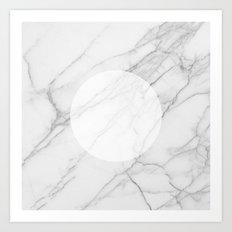 Eye Of The Marble Art Print
