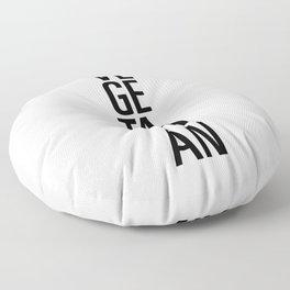 Vegetarian Floor Pillow