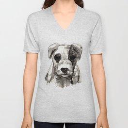 Puppy  Unisex V-Neck