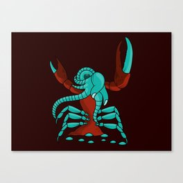 Crabonster Canvas Print