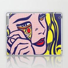 Crying Pizza Girl Laptop & iPad Skin