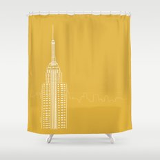 NYC by Friztin Shower Curtain