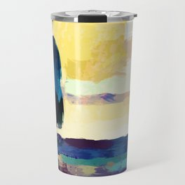 Sailing in the evening Travel Mug