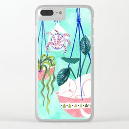 Hanging Gardens Clear iPhone Case