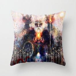 Waccan - Awakening Throw Pillow