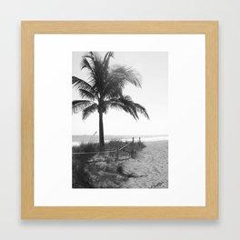 """Path to Ft. Lauderdale Beach"" Framed Art Print"