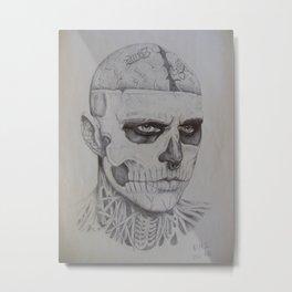 Zombieboy Metal Print