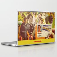 greg guillemin Laptop & iPad Skins featuring Superbad - Greg Mottola by Smart Store