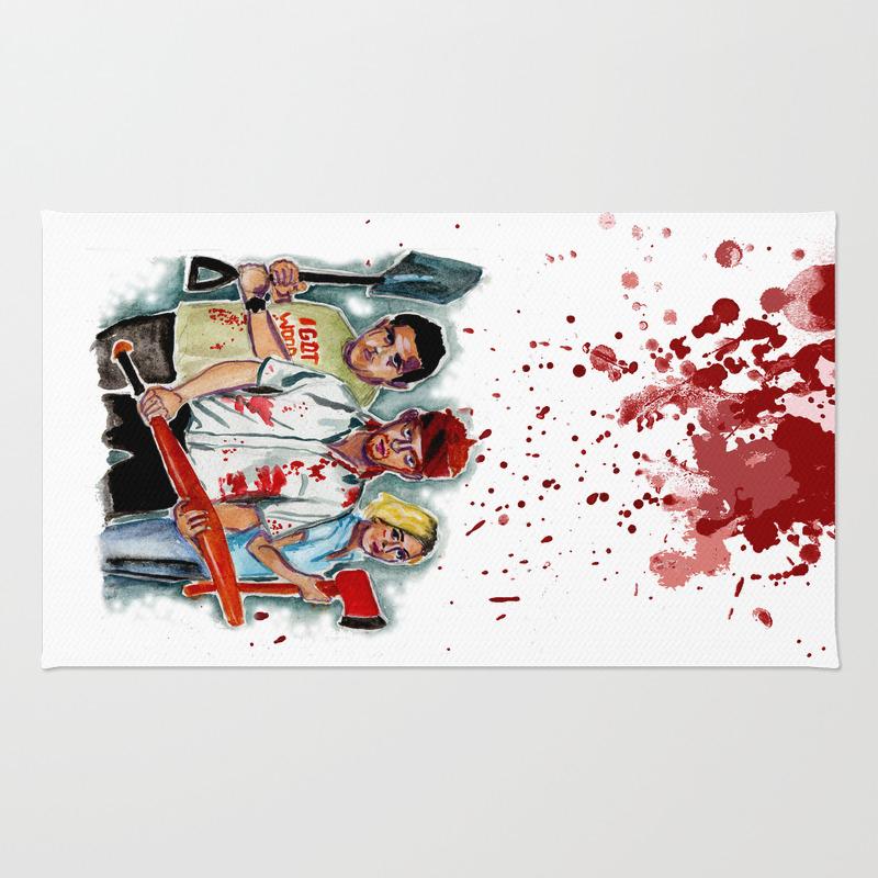 Shaun Of The Dead Rug by Lgatiesniece RUG8105128