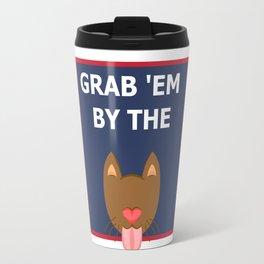 Grab 'em by the Travel Mug
