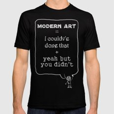 But you didn't Mens Fitted Tee Black LARGE