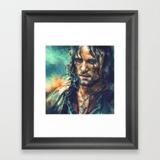 Elessar Framed Art Print