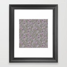 Blossom & Butterflies Framed Art Print