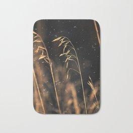 Grass In Specks Of Dust Bath Mat