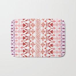 Norwegian Pattern – Reds & Corals Bath Mat