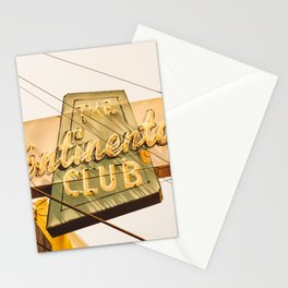 The Continental Club Stationery Cards