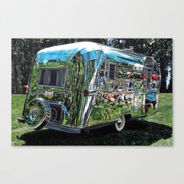 1959 Streamline Trailer Canvas Print
