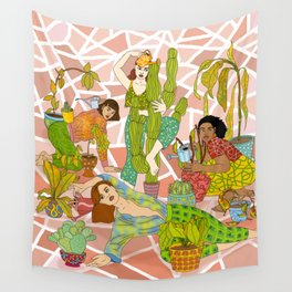 Succulent Success Wall Tapestry