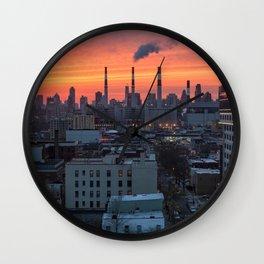 NEW YORK CITY 27 Wall Clock