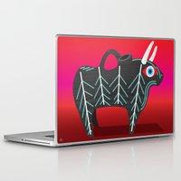 bull Laptop & iPad Skins featuring Bull by Dimitrios Tsimiklis