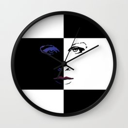 Pince Dr Who Print Wall Clock