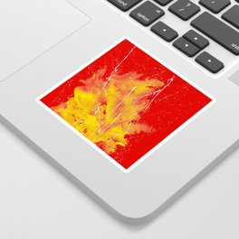 Explosion of colors_5 Sticker