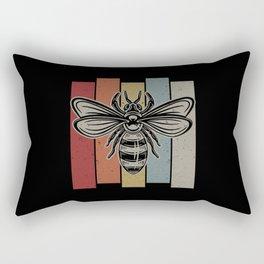 Vintage Bee Rectangular Pillow