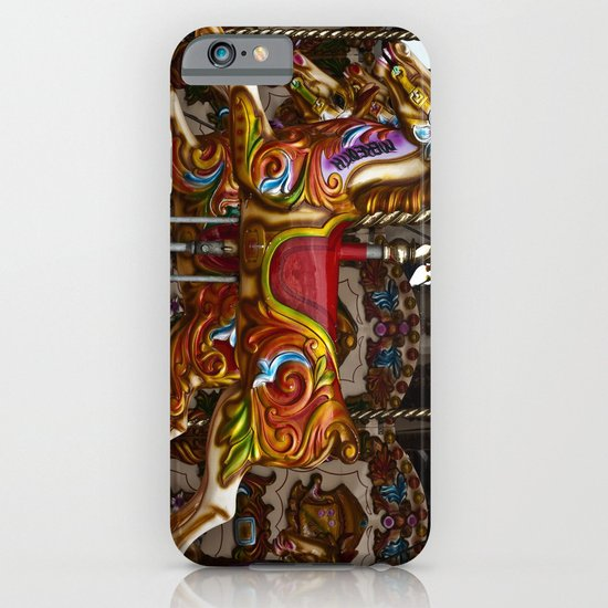 Colourful Carousel Horses iPhone & iPod Case