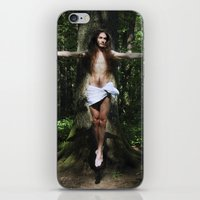 christ iPhone & iPod Skins featuring Jesus Christ by Marina Stelte