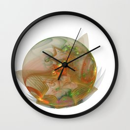 Crystal Ball Wall Clock