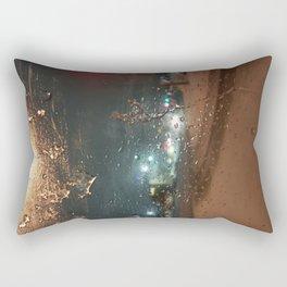 Winter Storm Warning Rectangular Pillow