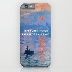Here Comes the Impression, Sunrise Slim Case iPhone 6