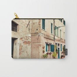 Teal Shutters Carry-All Pouch