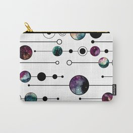 Galaxy Geometric Pattern 23 Carry-All Pouch