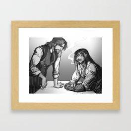 Cops & Crooks Framed Art Print