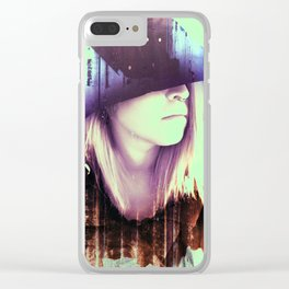 Love Affair with Suicide Witch Clear iPhone Case
