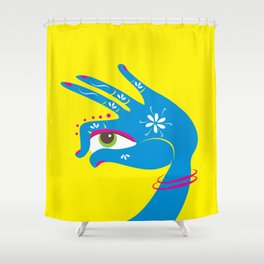 Mudra Shower Curtain