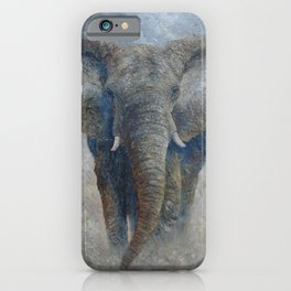 Elephant 2 iPhone Case