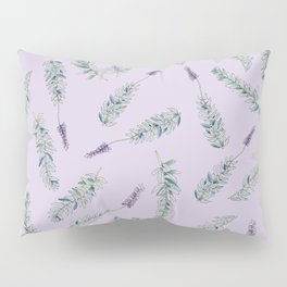 Lavender, Illustration Pillow Sham