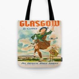 Vintage poster - Glasgow Tote Bag